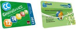 anwb camping keycard acsi korting