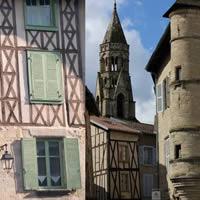 tips en bezienswaardigheden in Limousin middeleeuws St Leonard de Noblat