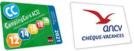 campingcard acsi keycard europe cheque des vacances accepté